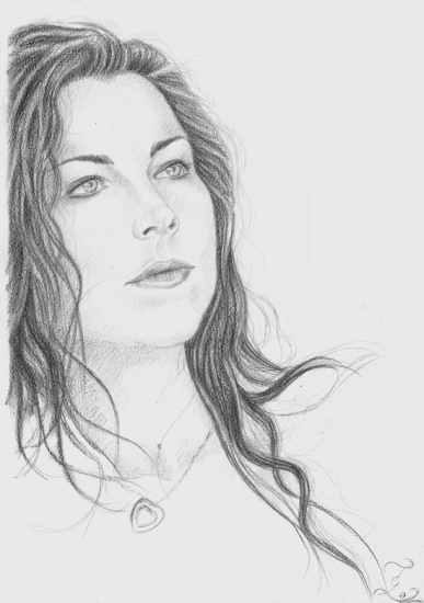 Amy Lee by Olivier_Lerousseau